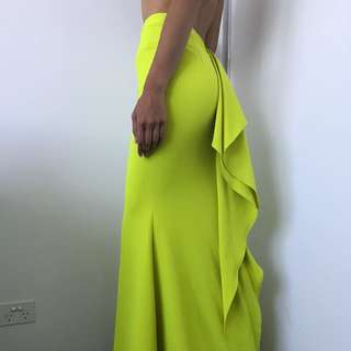 Sheike fitted floor length skirt