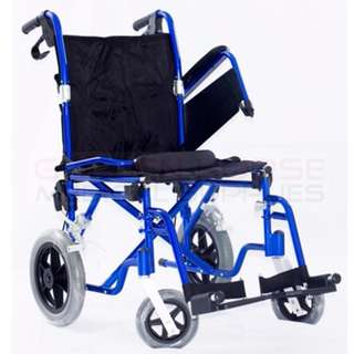 ENAL18 Aluminum Travel Wheelchair