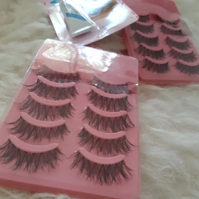 10 False lashes pack