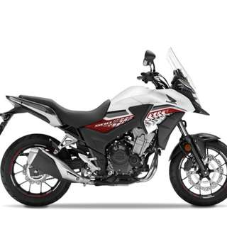 Honda New cb400x D/P $500 or $0 With out insurance (Terms and conditions apply. Pls call 67468582 De Xing Motor Pte Ltd Blk 3006 Ubi Road 1 #01-356 S 408700.