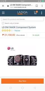 Lg sub bluetooth component
