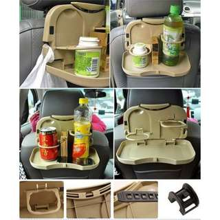 Travel dining tray/meja portable mobil