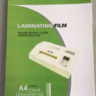 Laminating Films