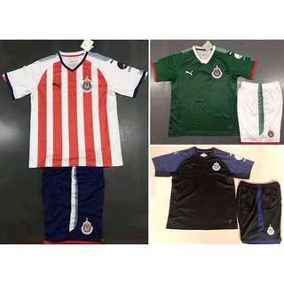 17/18 Chivas Guadalajara Kids jersey