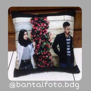Bantal foto print