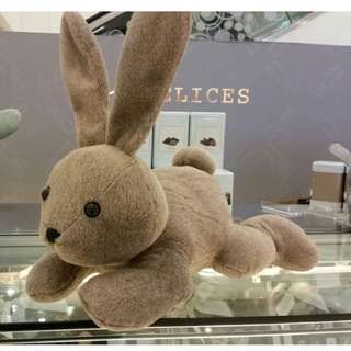 情人節禮物必選: Agnes b DELICES 限量版兔子毛公仔 $500 不議價 包順豐站自取