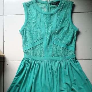 Brukat Tosca Dress by Topshop