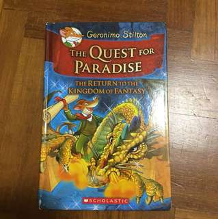 Geronimo Stilton The Quest for Paradise (Hardcover)