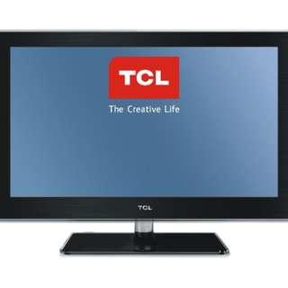 Led Tv T.C.L tipe L17D20B Gress Hdmi Usb Movie Katapang SOREANG
