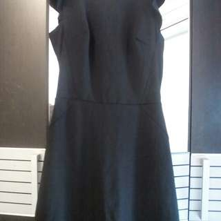 Mini Dress Black by Topshop