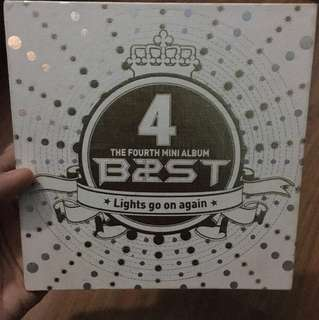 B2ST 4th Mini Album-Lights Go On Again