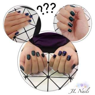 Classic gelish manicure