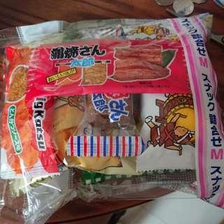 日本菓子零食 8 蚊一袋六款