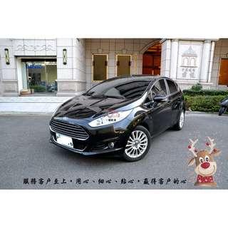 【小蓁嚴選】2015年Ford Fiesta 1.0 EcoBoost運動型,安全性能佳,操控性也美賣唷!就是新車2手價~