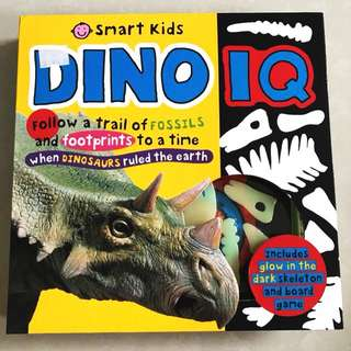 Smart Kids Dino IQ Activity Pack