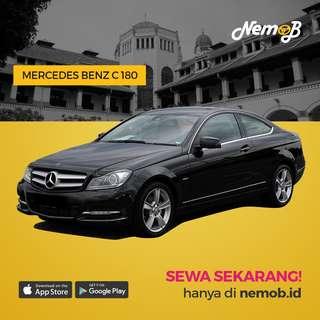 Promo Sewa Mercy C180 di Jakarta Hanya di Aplikasi Nemob.id
