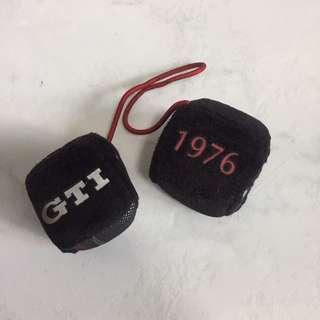 Golf GTI fuzzy dice