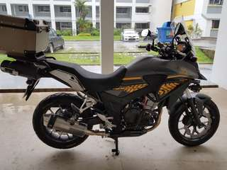 Honda CB400X Grounding Kit