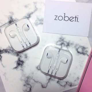 (全新)Apple EarPods 3.5mm 插頭