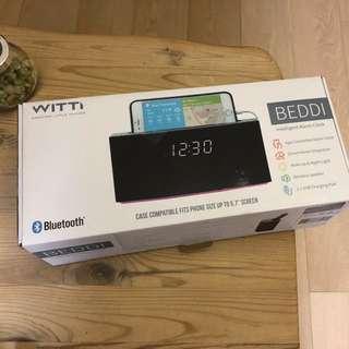 BEDDI 智能鬧鐘 smart alarm clock 智能喚醒 藍牙音響 帶hue智能燈光