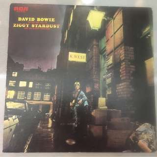 David Bowie ‎– The Rise And Fall Of Ziggy Stardust And The Spiders From Mars, Japan Press Vinyl LP, RCA ‎– RCA - 6050, 1972, no OBI