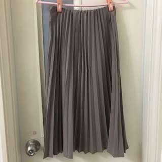 長裙 百褶裙