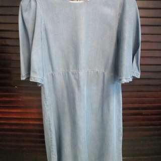 Denim Dress by Zara Woman