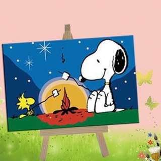 Paint by Numbers (Snoopy)