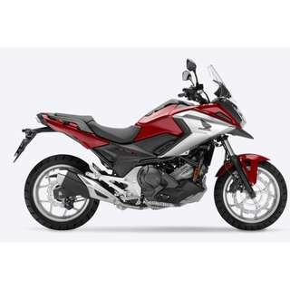 Brand New Honda NC750X