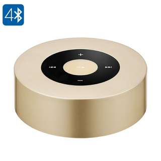 A8L Bluetooth Speaker - 3Watt, 1000mAh Battery, Hand Free, Micro SD Card Slot, Bluetooth 4.0 (Gold) Or (Silver) (CVAIA-B157)