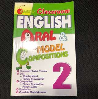P2 Assessment Book - Oral & Model Compositions