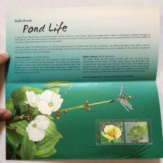 Presentation Pack - Singapore 2012 - Pond Life Stamps
