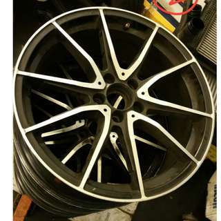 """19"""" Affordable Black Rims PRICES TO SELL"""