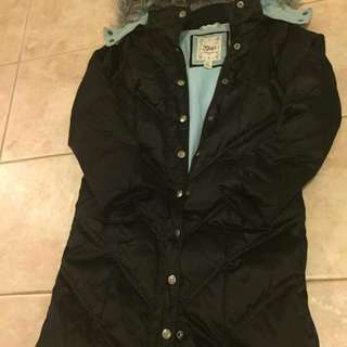 Gap winter down jacket,  youth size#12