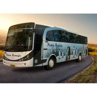Promo tiket shuttle dan bus murah rute Jogja - Lampung dan sebaliknya. Hubungi Nemob.id
