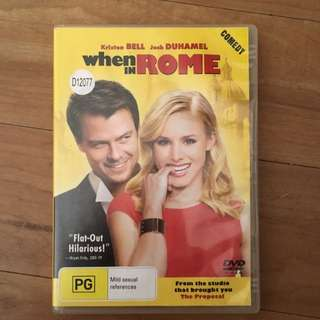 DVD When In Rome