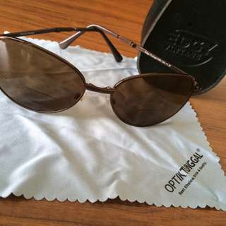 (REPRICE)EDGY VINTAGE sunglasses with +1.75