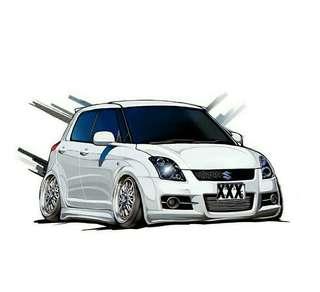 Suzuki swift Gt 3 istimewa sekali.