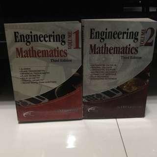 Engineering Mathematics by Gillesania (I & II)