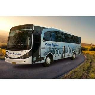 Promo tiket shuttle dan bus murah rute Jogja - Palembang dan sebaliknya. Hubungi Nemob.id