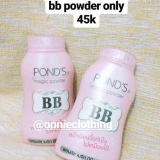 NEW PONDS BB POWDER