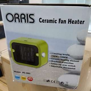 全新Orris 陶瓷暖風機
