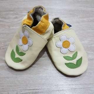 英國inch blue 真皮手工嬰兒鞋
