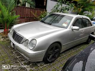 Mercedes Benz W210 Tiptop Condition