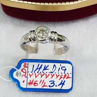 14k Ring w/ diamond