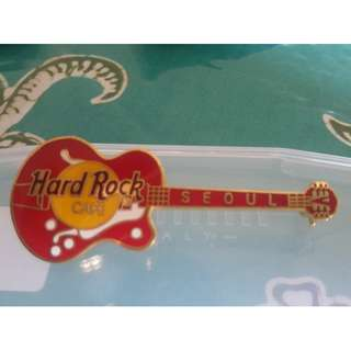 Hard Rock Cafe Pin - Seoul