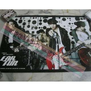 [READY STOCK]CNBLUE KOREA OFFICIAL POSTER 1PC SHIP USING TUBE (PRICE NOT INCLUDE POSTAGE)(PLEASE READ DETAILS FOR MORE INFO)