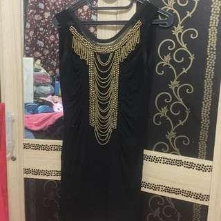 Dress hitam body soul fit to M
