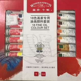 Winsor & Newton Fine Oil Paint 🎨