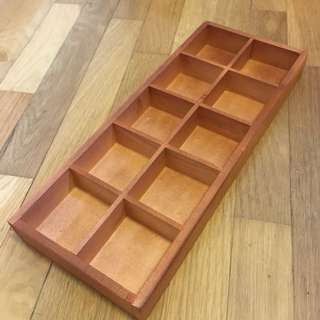 BN wooden tray/10 dividers/storage/decorations, models. Terrarium DIY Ideas. Container. Mini Garden Planter. Gift